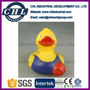Promotional Floating Yellow Rubber Vinyl Duck for Baby Bath pictures & photos