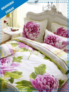 3PCS Floral Cotton Duvet Cover Set pictures & photos