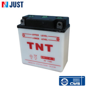 Motorcycle Battery, Rechargeable Battery, Lead Acid Battery (6N 11A-3) pictures & photos