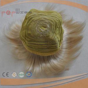 Synthetic Fiber Short Hair Bun Wig pictures & photos