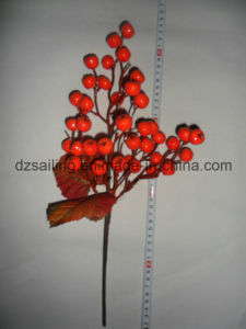 Autumn Coloration Berry Artificial Flower for Home Decoration (SHL15-G003) pictures & photos