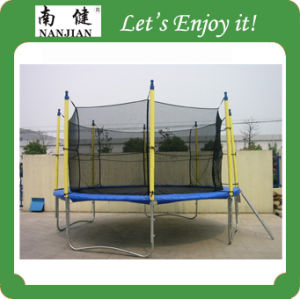 Nanjian 12FT Cheap Trampoline Jumping Bed pictures & photos