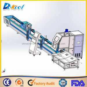 Steel Tube Cutting Machine for Gym Equipment Manufacture with 1200W Raycus Fiber 1200W pictures & photos