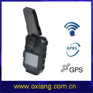 Waterproof Police Body Worn Camera DVR GPS GPRS (OX-ZP610) pictures & photos