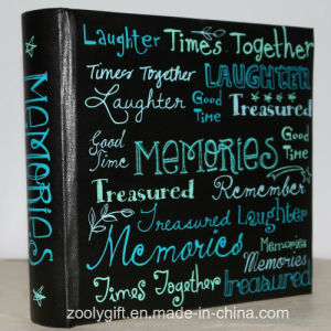 "Slogan Printing Memories Photo Album for 4X6 "" Photos pictures & photos"