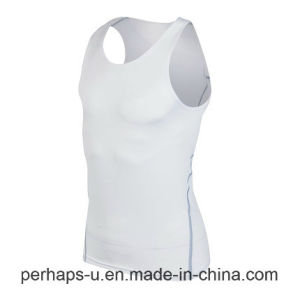 High Quality Mens Sport Fitness T-Shirt Training Tops pictures & photos