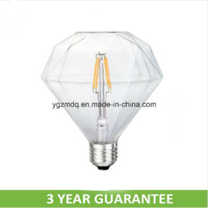 E26 Diamond Shape LED Filament Bulb for Decoration