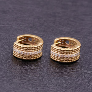 Different Design Fashion Hot Sale CZ Earrings for Men Wear pictures & photos