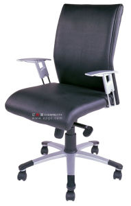 Ergonomic Modern Office Furniture PU Leather Swivel Executive Chair pictures & photos