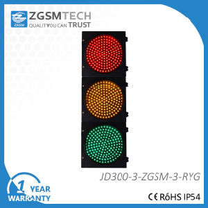 LED Traffic Signal Light Red Green Yellow 300mm pictures & photos