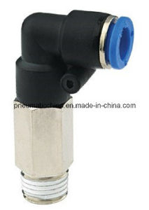 Plastic Push in Pneumatic Air Fittings (PLL series) pictures & photos