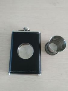 Newest Type Stainless Steel Mini Hip Flask Set pictures & photos