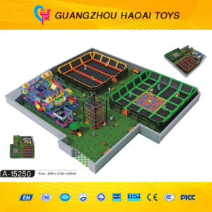Ce Safe Kids Indoor Trampoline Park for Sale (A-15249) pictures & photos