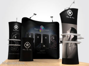 Combined Tube POPup Booth Tention Fabric Exhibition Display pictures & photos