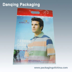 Clothes Packaging with Customized Handle pictures & photos