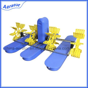 Fish Farming Equipment 4 Impellers 2HP Paddle Wheel Aerator