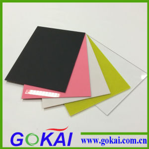 Transparent Flexible Color Cast Acrylic Mirror Sheet /2mm Acrylic Sheet pictures & photos