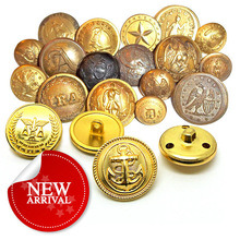 Gold Metal Sewing Button for Garment pictures & photos