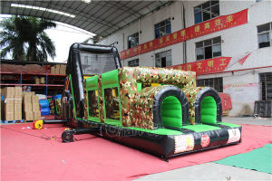 Boot Camp Cheap Inflatable Obstacle Course for Kids Chob548 pictures & photos