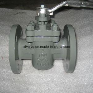 Cast Steel Soft Sealing Flange Plug Valve
