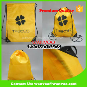 Outdoor Leisure Shoes Drawstring Backpack Bag for Sport pictures & photos