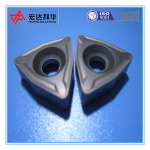 High Quality Indexable Carbide CNC Inserts for Steel Cutting pictures & photos