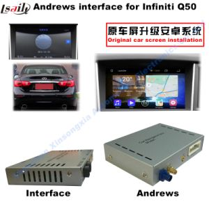 HD Android GPS Video Interface Navigator for 2014-2016 Infiniti Q50/Q50L, Touch Screen pictures & photos