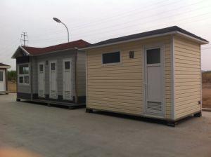 Light Steel Mobile Toilet / Street Toilet / Moving Toilet