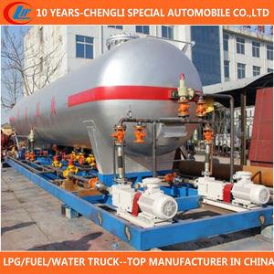 50000 Liters LPG Cylinder Filling Station 50m3 LPG Skid Station for Sale pictures & photos