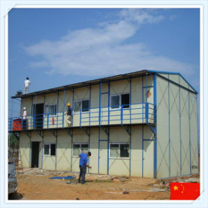 High Quality Prefabricated Apartment with Sandwich Panel pictures & photos