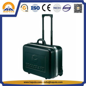 Stylish ABS Trolley Case Green Hard Tool Box (HT-5106) pictures & photos