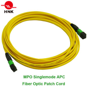 MPO Multimode Singlemode Fiber Optic Patch Cord pictures & photos