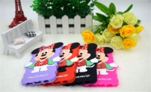 Cartoon Mickey Minnie Silicone Phone Case for iPhone 6 6plus 7 7plus Mobile Accessories (XSD-009) pictures & photos