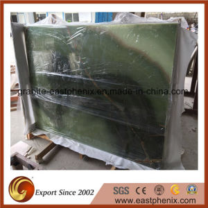 Polished Green Jade Onyx Stone Slab pictures & photos