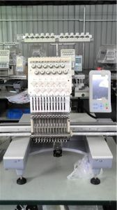 Single Head Tubular Embroidery Machine for Cap/ Flat/T-Shirt /Cross-Stitch Embroidery pictures & photos