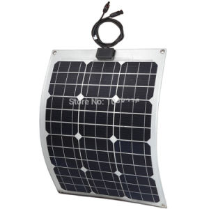 30W Flexible Solar Panel/Flexible Thin Film Solar Panel/Semi Flexible Solar Panel pictures & photos