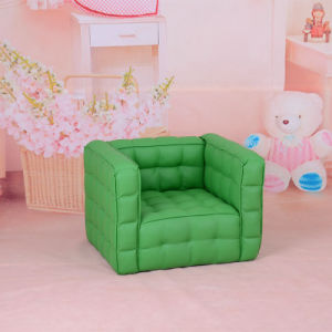 Baby Seating Green PVC Sofa Chair (SXBB-150) pictures & photos