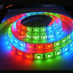 12V LED Strips Light 60LED SMD2835 RGB pictures & photos