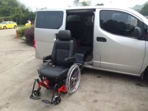 Swivel Car Seat with Wheelchair Which Can Be Used as Wheelchair pictures & photos