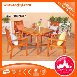 Functional Leisure Table Chair Park Wooden Tables and Chairs pictures & photos
