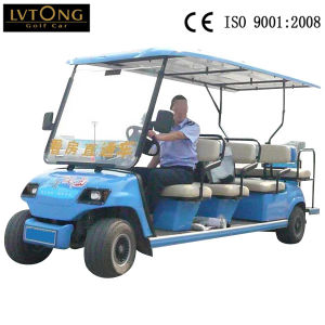 11 Person Battery Sightseeing Car with Foldable Additional Seat pictures & photos