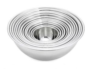 Stainless Steel Mixing Bowls for Backing Prep and Restaurant pictures & photos