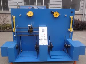 Double Bobbin Shaftless Rewinding Machine for Copper pictures & photos