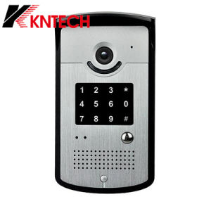 Knzd-42vr HD Camera Control Access System IP Video Door Phone pictures & photos