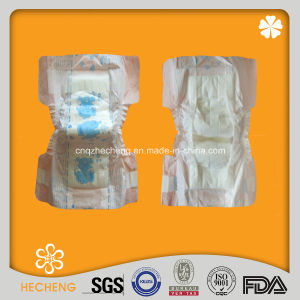 Disposable Breathable Baby Diaper with Super Absorption pictures & photos