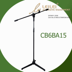 Height Ajustable Aluminium Microphone Stand (CB6BA15) pictures & photos