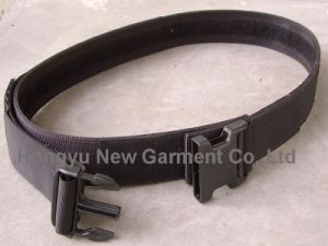 High Quality Fashion Police Waist Belt with Hook & Loop pictures & photos