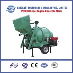 Jzc350 Diesel Engine Concrete Mixer pictures & photos