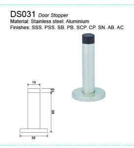 Stainless Steel Door Stopper Rubber Stopper Ds032 pictures & photos
