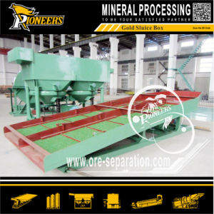 Black Sand Gold Mining Machine Recovery Sluice Gold Box Plant pictures & photos
